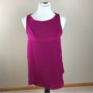 Theory Silk Top Blouse Sleeveless Tank Camisole